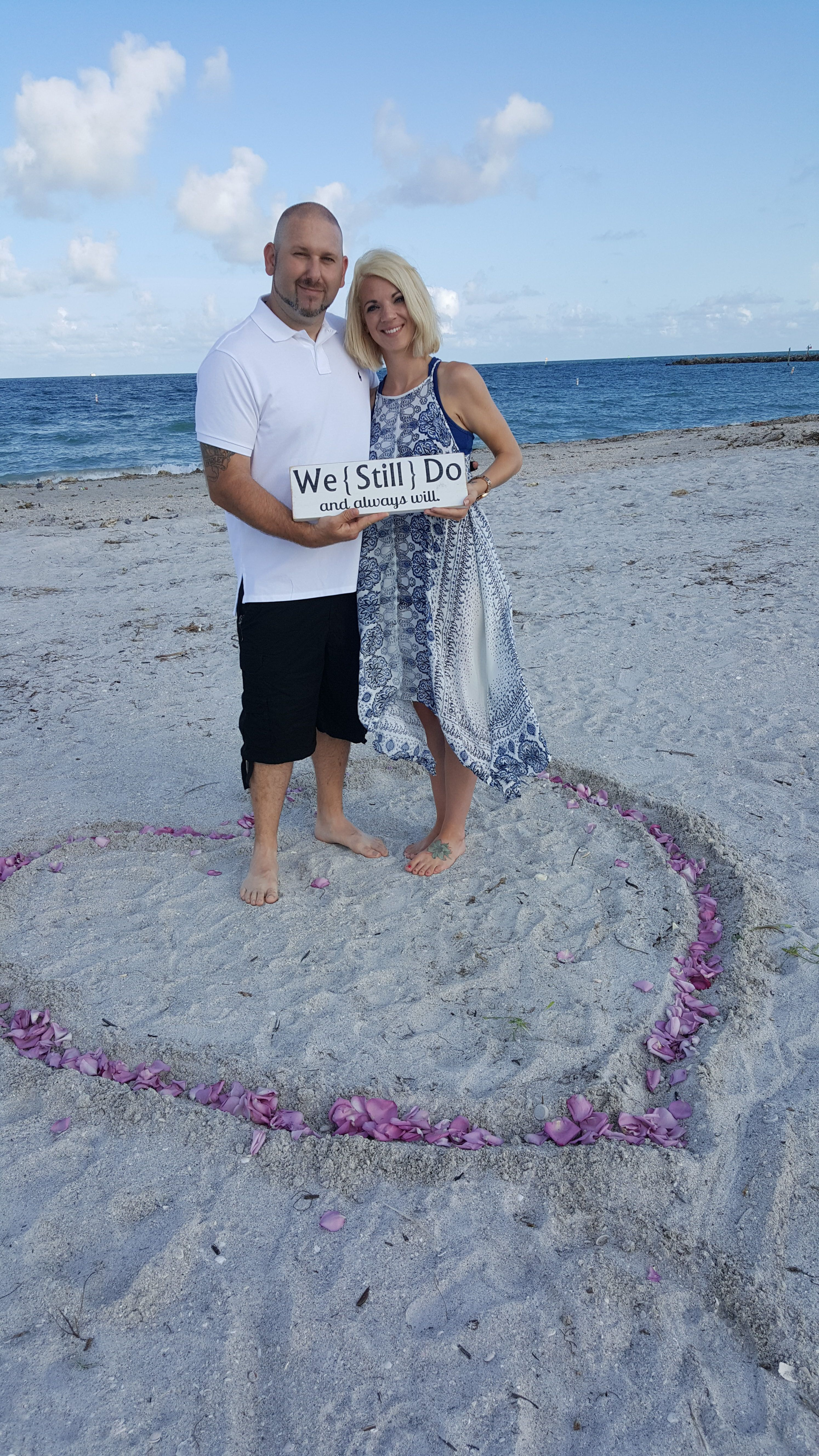 Surprise Wedding Vow Renewal Clearwater Archives A Beautiful