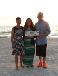20 year Surprise Vow Renewal on Belleair Beach Florida