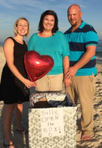 Surprise Vow Renewal on St. George Island