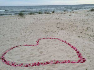 Ways to Use Rose Petals at your Wedding Ceremony