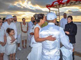 Wedding Anniversary Vow Renewal Ceremony at Sand Key Park