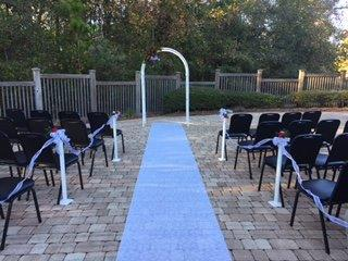 Festive Holiday Wedding Ceremony in Tallahassee