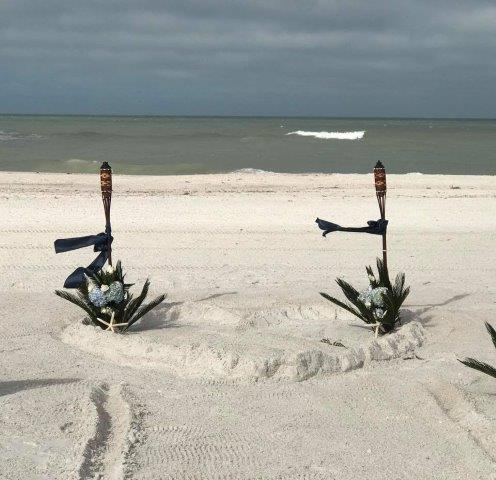 Bernice and Brook's Clearwater Beach Wedding Ceremony