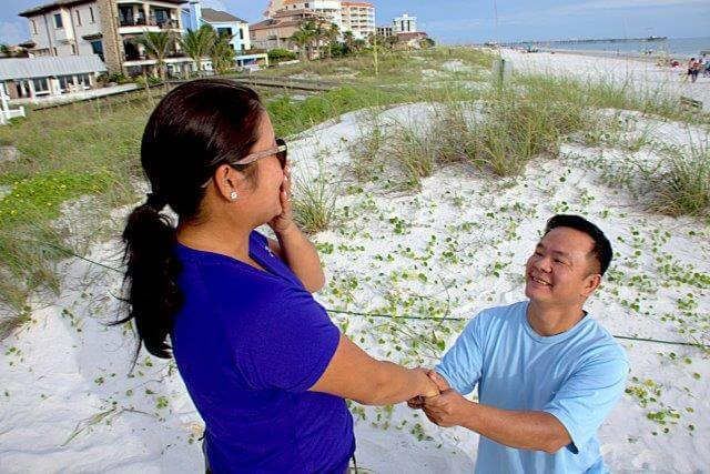 Tampa 4th of July Wedding Ceremonies