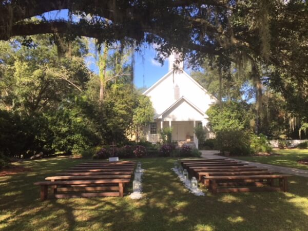 Wedding Ceremony at Shiloh Farm Tallahassee