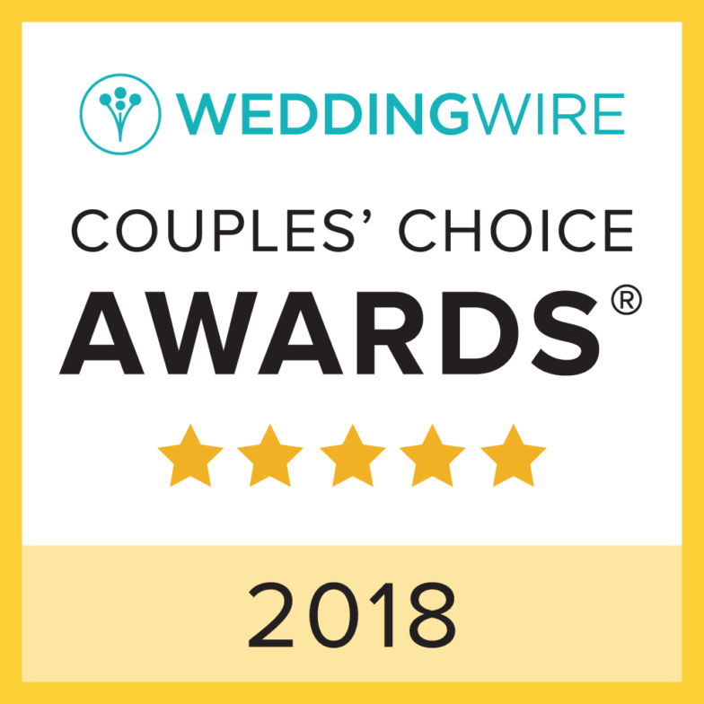 Tampa Officiant and Tallahassee Officiant Win 2018 WeddingWire Couples' Choice Awards